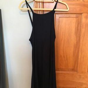Navy Blue A-Line Soprano Dress